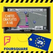 GPS Garmin NÜVI 67 LM + Aires de services CC