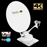 Antenne sat auto INOVTECH 65 SatFinder UltraHD 4K Dual