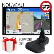 GPS Garmin Camper 770 LMT-D + Support GEL OFFERT + Chargeur 230V