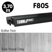 Store FIAMMA F80S 3m70 Noir Fourgon