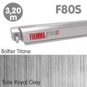Nouveau Store FIAMMA F80S 3m20 Titane Fourgon