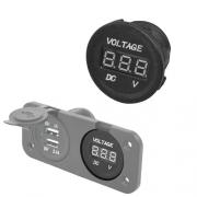 Afficheur voltage batterie 10/30V