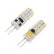 2 Ampoules 24 LED G4  110Lm 1W5
