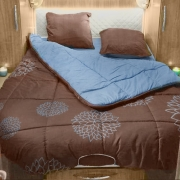 Lit tout fait 150x200 Cosy spécial lit central