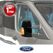 Coques rétros HTD Noires Ford Transit 6 après 2014