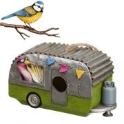 Cabane à oiseaux Caravan Flamingo