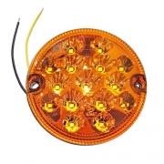 Feu arrière Clignotant LED rond 95mm