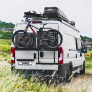 Porte-vélos THULE ELITE Van XT Black Fourgon Ducato après 2007