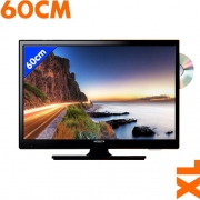 TV HD LED DVD T2 60cm Antarion