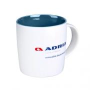 Mug ADRIA Deutschland en porcelaine 34 cl