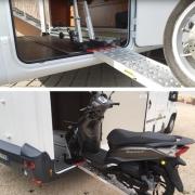 Porte moto Pollicino 2m version à Droite