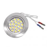Spot 18 LED 12V 1W2 68mm encastrable