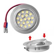 Spot 18 LED 12V 1W5 68mm orientable