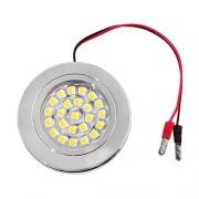 Spot 24 LED 12V 1W6 68mm en saillie