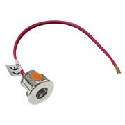 Mini Spot LED 12V 0,6W 18mm encastrable