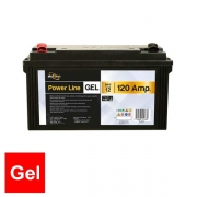 Batterie auxiliaire Power Line Gel 120 AH Powerlib
