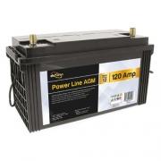 Batterie auxiliaire Power Line AGM 120 AH Powerlib