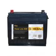 Batterie auxiliaire Power Line AGM 140 AH Powerlib