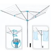 Sèche linge parapluie alu 180cm
