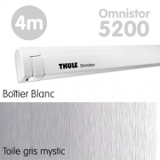 Store Thule Omnistor 5200 Blanc 4m Gris Mystic