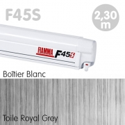 Store Fiamma F45S Blanc 2m30 Royal Grey