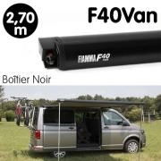 Store Fiamma F40 VAN Noir 2m70 pour VW T5 T6
