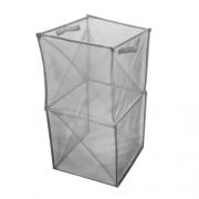 Cube de rangement pliable nylon 35 x 35 x 70 cm