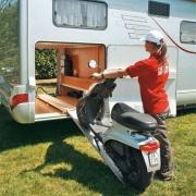 Porte moto Fiamma Carry Moto Pro spécial soute