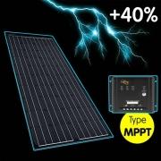 Panneau solaire Wing Perc INOVTECH 130W + MPPT