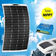 Panneau solaire Semi-Flex INOVTECH 160W + MPPT