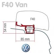 Adaptateur store Fiamma F40 Van pour VW T5-T6