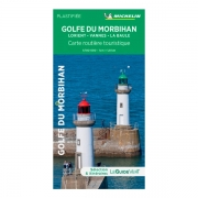 Carte Michelin Guide vert Golfe du Morbihan 2019