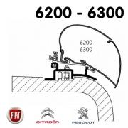 Adaptateur Store Thule 6300 Ducato de 1994 à 2006