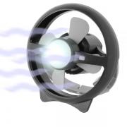 Ventilateur Lampe 12V ATMO rechargeable