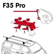 Adaptateur store Fiamma F35 Pro pour galerie de toit