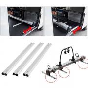 Kit Rails de montage 70 cm pour THULE VELOSLIDE