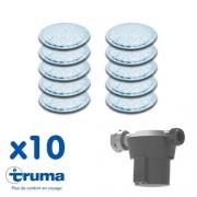 Coussins filtrants pour Filtre à gaz Truma - lot de 10