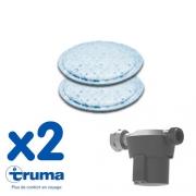 Coussins filtrants pour Filtre à gaz Truma - lot de 2