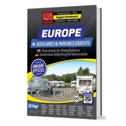 Guide EUROPE Aires de CC et parkings gratuits