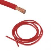 Bobine 5 m câble électrique 4 mm Rouge