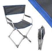 Fauteuil directeur Ultra Compact Gris-Bleu