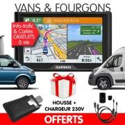 GPS Fourgon Garmin Drive 61 LMT-S + Chargeur 230V + Housse