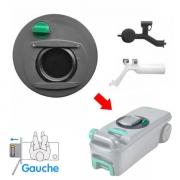 Mécanisme d\'ouverture pour Cassette C400/C500 Gauche