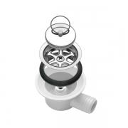 Bonde inox coudée SMEV 38 mm tuyau 25 mm