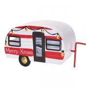 Déco Noël Caravane Merry Xmas